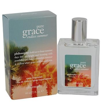 Pure Grace Endless Summer by Philosophy Eau De Toilette Spray 2 oz