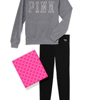 Crew & Legging Gift Set - PINK - Victoria's Secret