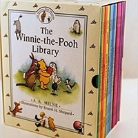The Winnie-The-Pooh Library (12 books) Hardcover – Box set, 1998