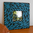 Mirror Handpainted Blue Aboriginal Inspired by Acires on Etsy