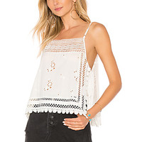 Free People Garden Party Cami in Ivory | REVOLVE