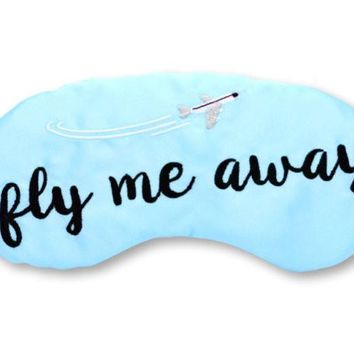 FLY ME AWAY SLEEP MASK