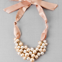 Ribbons & Pearls Necklace