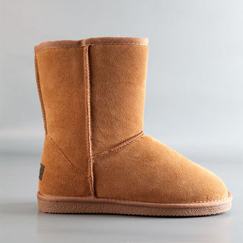 Beach Feet Womens Low Boots Chestnut  In Sizes