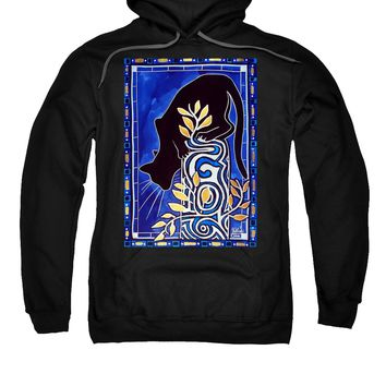 G Is For Gato - Cat Art With Letter G By Dora Hathazi Mendes Sweatshirt