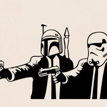 Star Wars Clones & Stormtrooper Character Wall Sticker