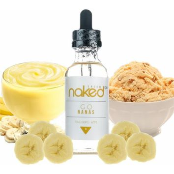 Naked Go Nanas E Liquid