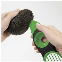 3-in-1 Avocado Slicer Peeler and Skinner Multi-functional Kitchen Gadget