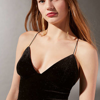 UO Icing On The Cake Velvet Cami | Urban Outfitters