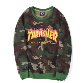 Womens Thrasher Skatebord Sweatshirt
