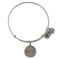 Alex and Ani Class Of 2013 Charm Bangle - Russian Silver