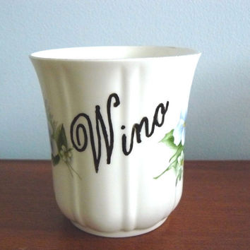 Wino coffee mug by trixiedelicious on Etsy