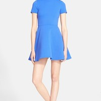 Women's Opening Ceremony Textured Knit Fit & Flare Dress,
