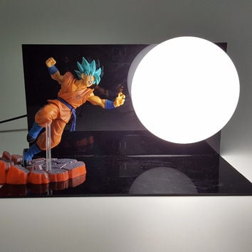 Super saiyan God Dragon ball z lamp