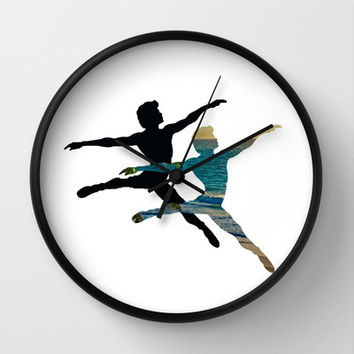 SEA DANCERS Wall Clock by catspaws
