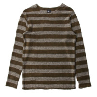 Publish Milian Knitted L/S Tee In Olive