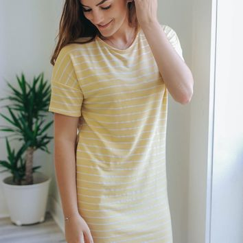 Wear Anywhere Dress - Canary