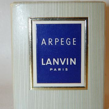 Arpege Lanvin Women Perfume .25 Oz Splash MINI Pure Parfum SEALED Vintage