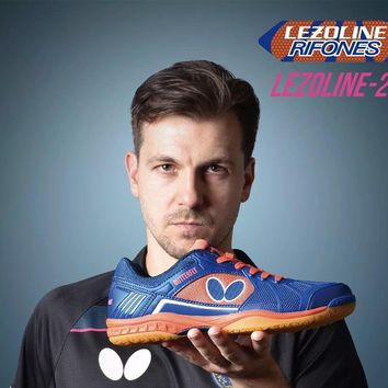 2018 BUTTERFLY LEZOLINE-2 timo boll Table Tennis Shoes professional indoor sport sneakers for men and women