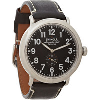 Shinola The Runwell 47mm With Leather Strap at Barneys.com