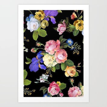 Flowers Art Print by Dpr1