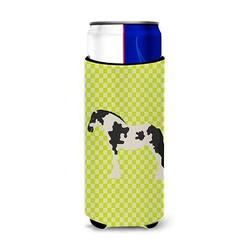 Cyldesdale Horse Green Michelob Ultra Hugger for slim cans