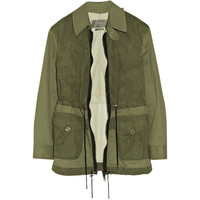McQ Alexander McQueen Cotton-canvas cargo jacket