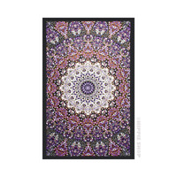 India Star Purple - Glow in the Dark Tapestry on Sale for $32.95 at HippieShop.com
