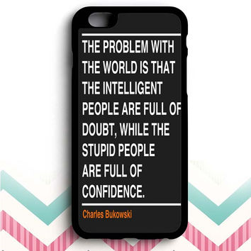 Ain't that the truth. The ones that ought to have conviction, are the ones that sit there all clueless.  iPhone 6+ case