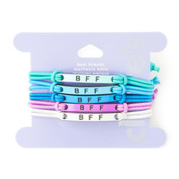 BFF Pastel Corded Bracelets Set of 5