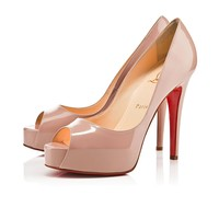Hyper Prive 120 MM Nude Patent Leather