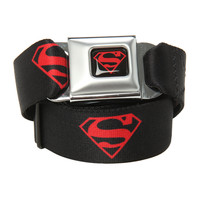 DC Comics Superboy Logo Seat Belt Belt
