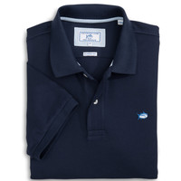 Short Sleeve Skipjack Polo in True Navy by Southern Tide