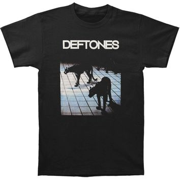Deftones Men's  CK Panther T-shirt Black