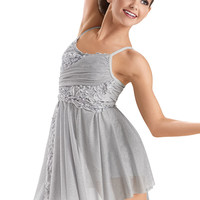 Ribbon Embroidered Mesh Dress -Weissman Costumes