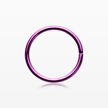 Colorline Basic Steel Bendable Nose Hoop