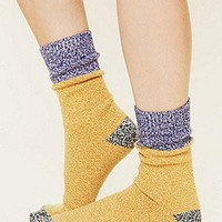 Free People Clothing Boutique > Colorblock Boot Sock