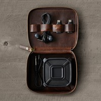 Italian Leather Tech Tool Case