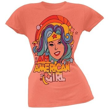 Wonder Woman - All American Girl Juniors T-Shirt