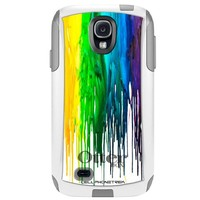 Otterbox Commuter Series Melting Wax Hybrid Case for Samsung Galaxy S4