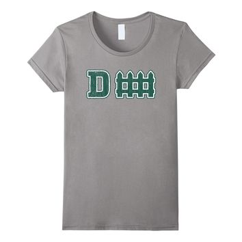 D fence Funny Defense New York-Jersey Football T-shirt