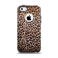 The Vibrant Cheetah Animal Print V3 Apple iPhone 5c Otterbox Commuter Case Skin Set