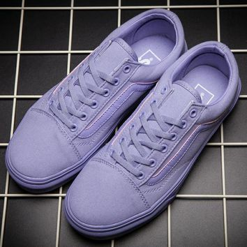 Vans men and women Casual shoes for purple