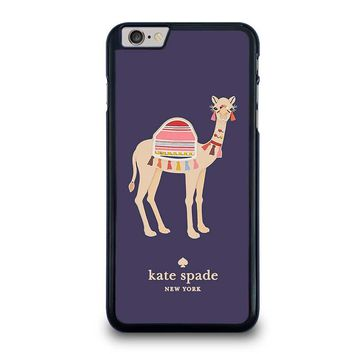KATE SPADE APPLIQUE CAMEL iPhone 6 Plus Case Cover
