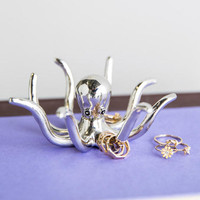 Petite Octopus Ring Holder