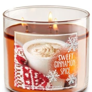 3-Wick Candle Sweet Cinnamon Spice