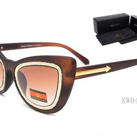 Karen Walker sunglass AA Classic Aviator Sunglasses, Polarized, 100% UV protection [2974244868]