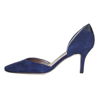 Sam Edelman for Women: Opal Navy Suede Heel