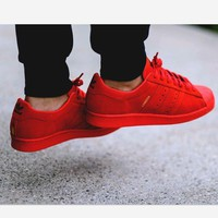 Adidas SUPERSTAR CITY SERIES Shell-top (6-color) Red