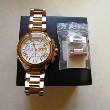 ICIK8TS Michael Kors MK5757 Chronograph Camille Rose Gold Ladies Watch